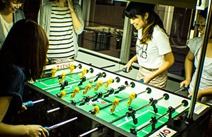 テーブルサッカーのイメージ